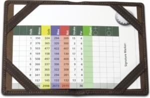 Golf Scorekartenetui tour